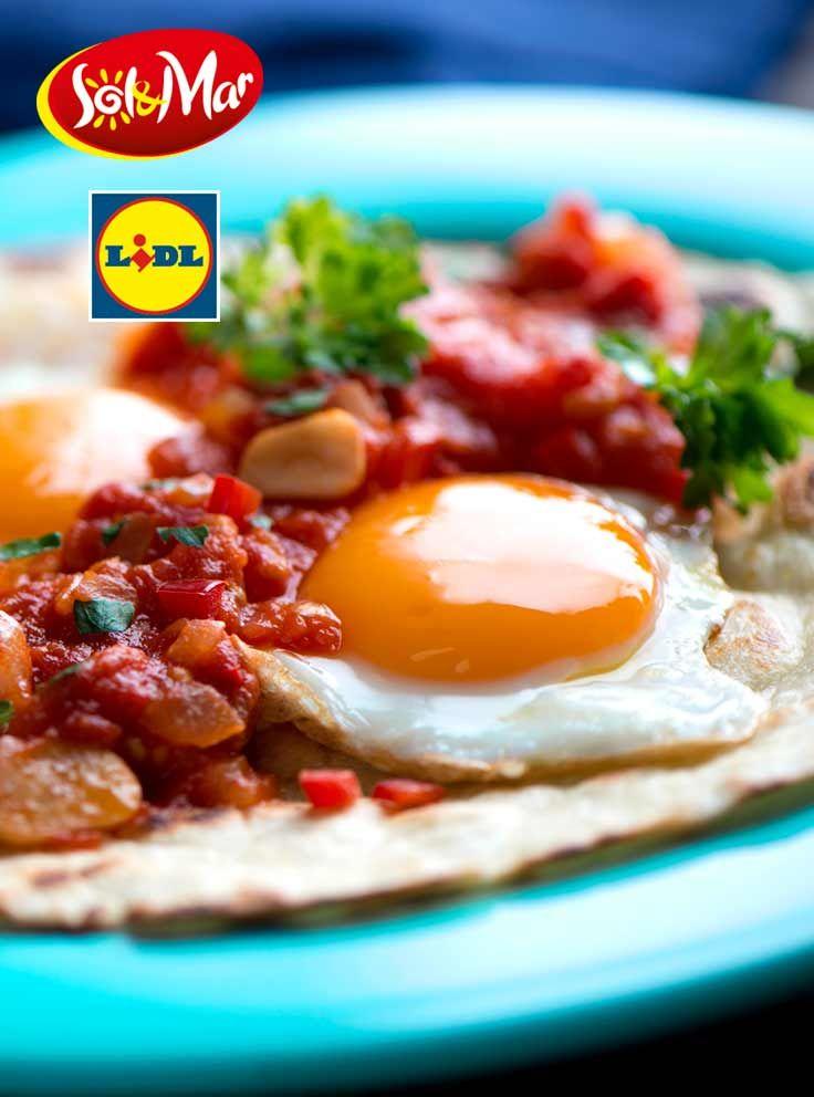 Jajka po hiszpańsku. Kuchnia Lidla - Lidl Polska. #lidl #solandmar #jajka