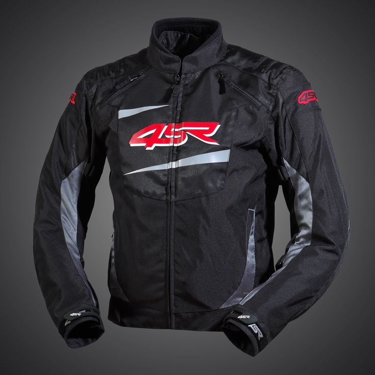 Stunts - Titanium Grey textile jacket