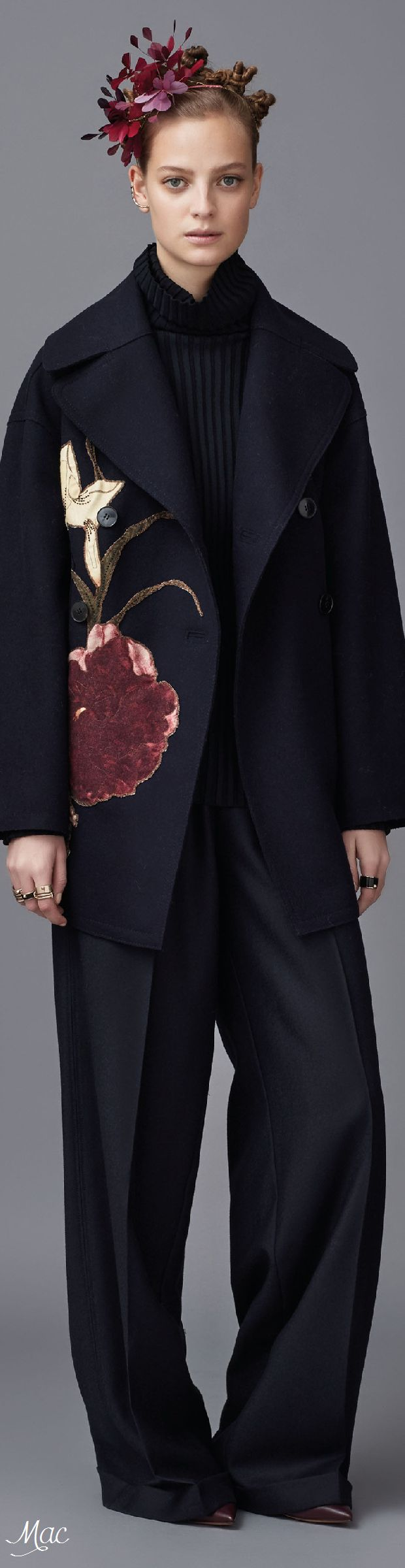 There Is a Ton of Wild Stuff Happening in Valentino's Pre-Fall Collection