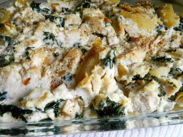 Chicken & Kale Casserole by Rachel Schultz
