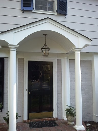 17 best images about portico on pinterest front porches for Portico porch designs