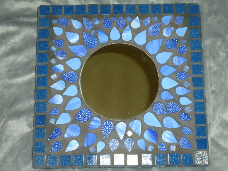 Mosaic - Soleil bleu