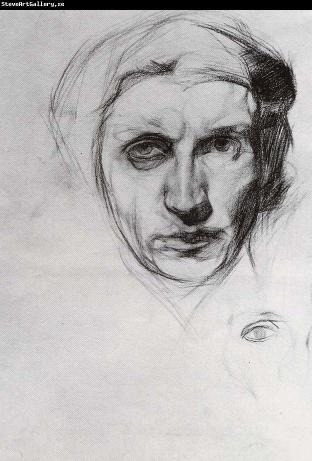 Mikhail Vrubel, Self-portrait