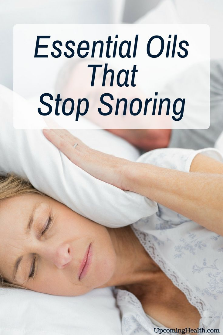 8 Essential Oils That Stop Snoring Caused By Allergies, Congestion or Inflammation