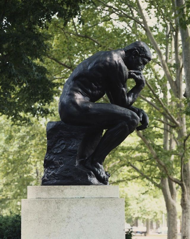 Auguste Rodin's 'The Thinker
