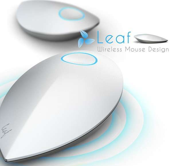 The Leaf Wireless Mouse Does Not Need Batteries #gadgets trendhunter.com
