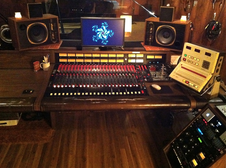 The Mci 416a Console From Muscle Shoals Studio Alabama
