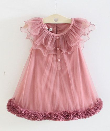 3T Toddler Girls Dress // Flower Dress Fancy by shopteetertots, $24.99