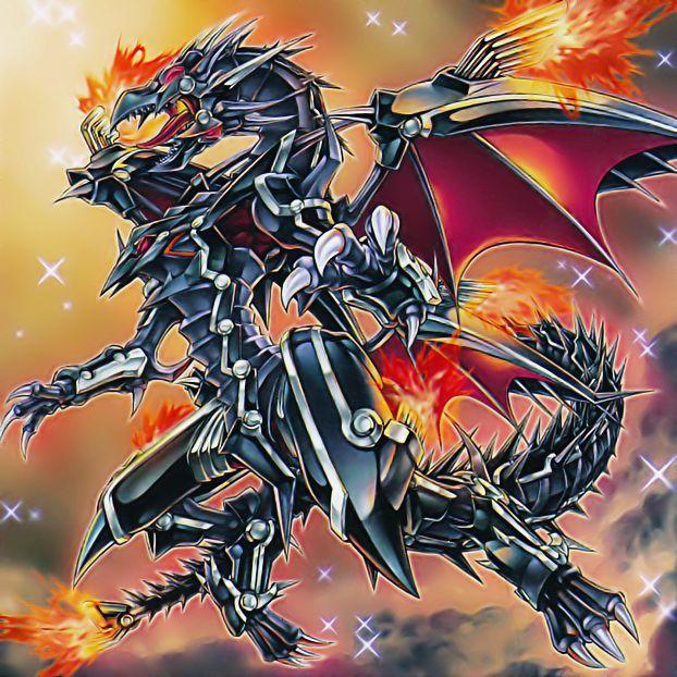 Red Eyes Flare Metal Dragon By 1157981433 On Deviantart Olhos Vermelhos Dragões Monstros