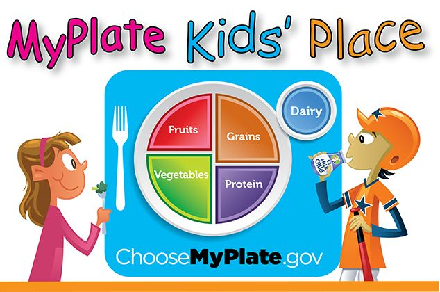 Lesson plans, activity sheets, recipes and videos to teach children about MyPlate.
