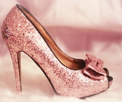 Sparkle with bow
