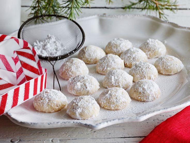 Polvorones (Mexican Wedding Cookies) Recipe : Marcela Valladolid : Food Network - FoodNetwork.com