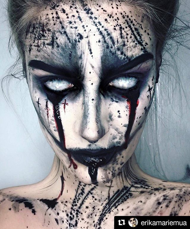 Spooky Halloween Makeup Body Painting Art Ideas By Erika Marie Will You Try It Art Corner