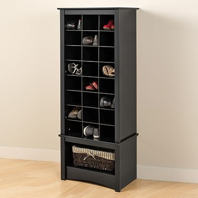 Tall Shoe Cubby Cabinet- would make a pretty yarn storage
