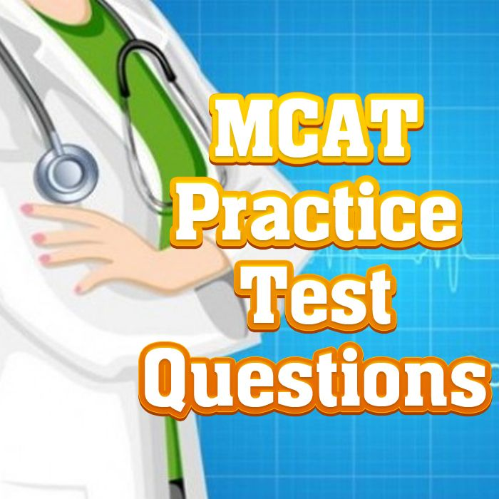The Medical College Admission Test (MCAT) is the applicant screening exam used by medical colleges in the United States. If you're thinking about becoming a doctor, you'll need to be prepared to take the MCAT. Take a look at these MCAT practice test questions to become prepared for the MCAT exam. #mcat #doctor