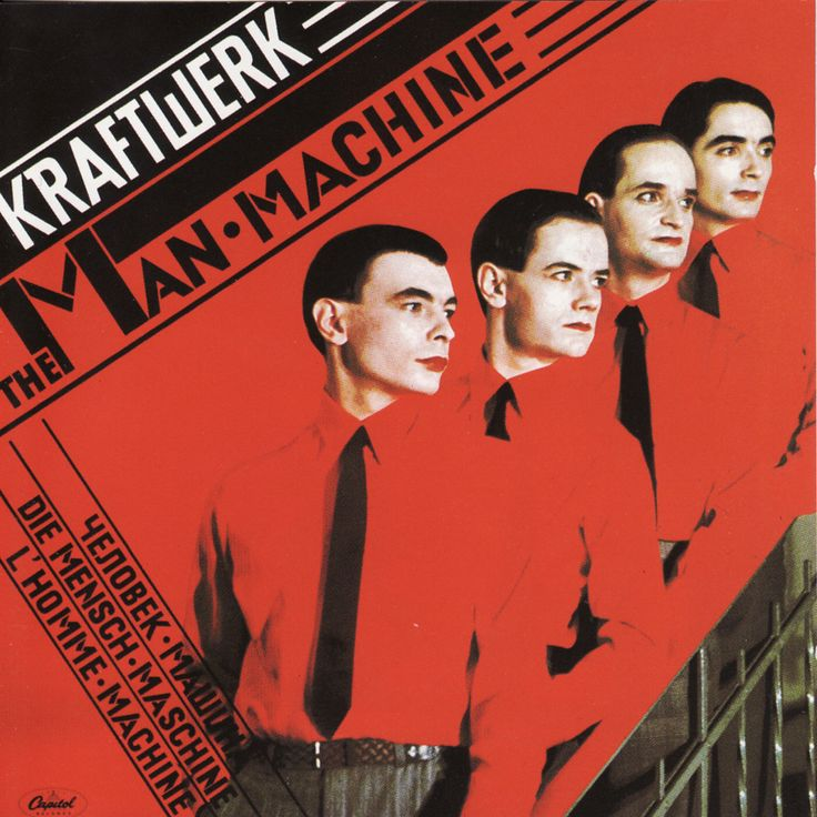 Kraftwerk - Man machine - 1978