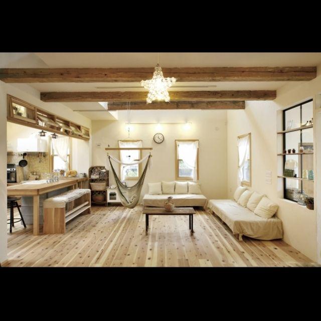 halさんの、手作り,部屋全体,IKEA,DIY,のお部屋写真