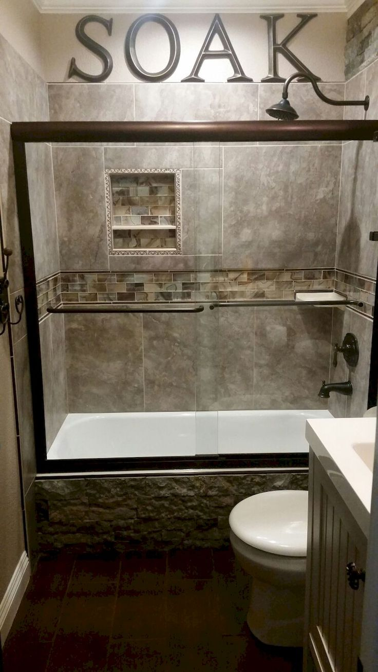 Best Small Bathroom Remodeling Ideas On Pinterest Tile For - Diy shower remodel for small bathroom ideas