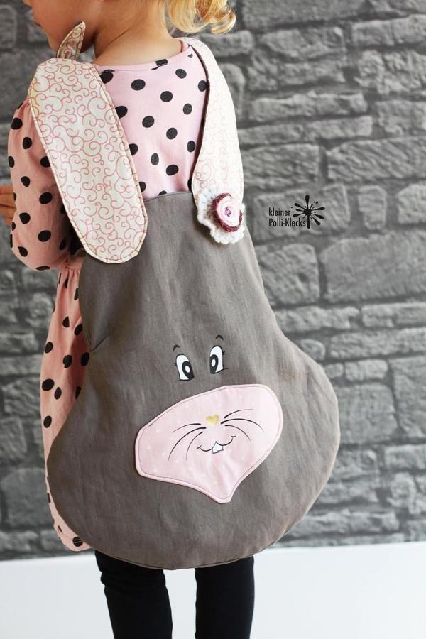Nähanleitung Tasche BunnyBag inklusive Plottdateien - Nähanleitungen bei Makerist