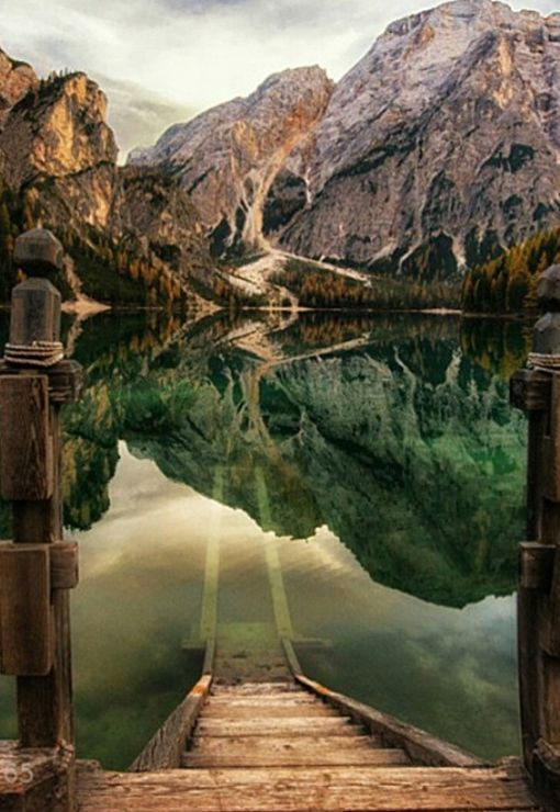 Lake Braies Dolomites