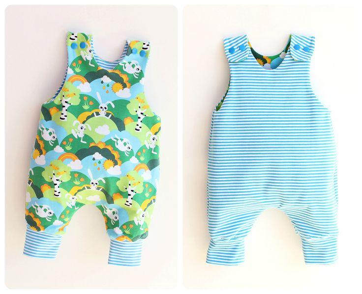JUMPY Baby Romper sewing pattern, REVERSIBLE Harem romper pattern Pdf, Children Baby Boy Girl romper, Toddler romper, newborn to 6 years by PUPERITA on Etsy https://www.etsy.com/listing/157279220/jumpy-baby-romper-sewing-pattern