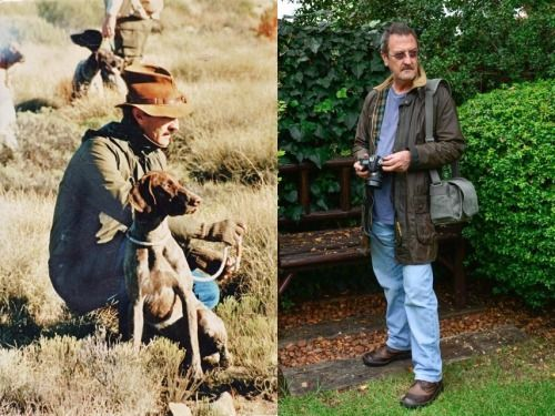 thornproof:  Submission from Rodney: Nearly 30 years and still going… Barbour Border jacket bought in UK in 1985. Arms repaired and sleeves lengthened by Barbour about 10 years ago. Left Photo: Border Field Trial, Eastern Cape 1986 Right Photo: Underberg, Kwa-Zulu Natal 2014 -Thanks, Rodney, for the great submission!