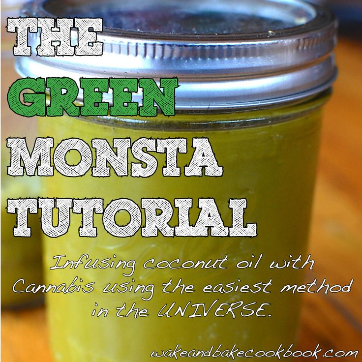 The Easiest Cannabis Infused Coconut Oil Tutorial… On The