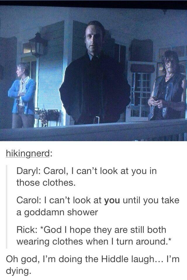- S5.E12. Remember - Fangirl - The Walking Dead - Ship - Caryl