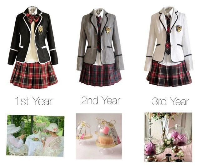 """Mrs.Phelps School for Ladies of the New Era"" by kyokokiryuu ❤ liked on Polyvore"