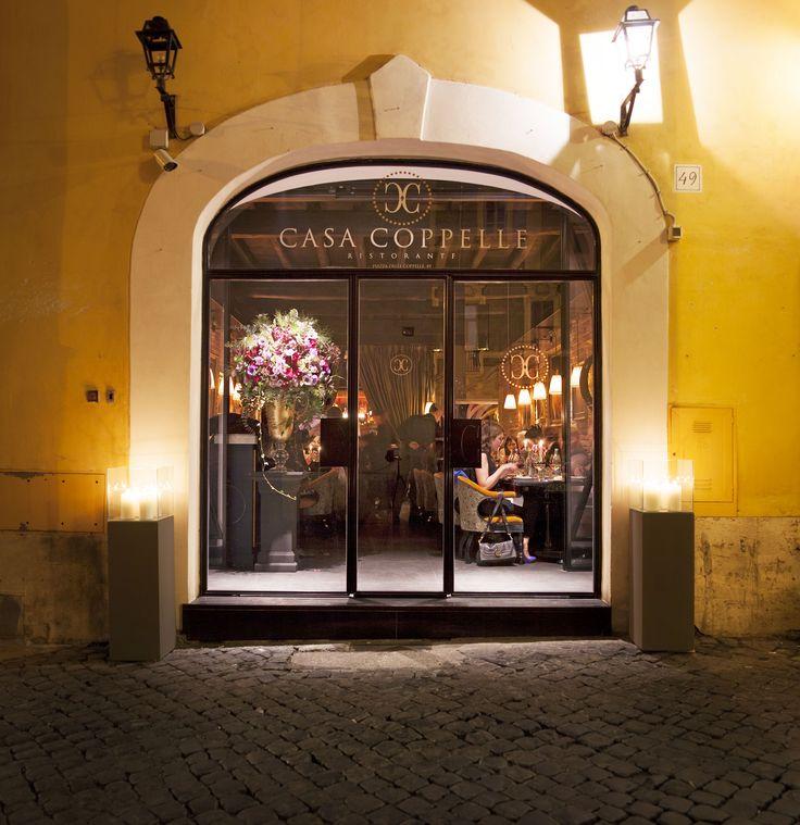 #restaurant #entrance #window #rome #casacoppelle