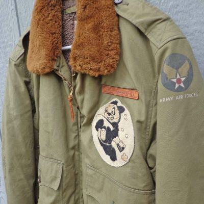 Sold on eBay: Vintage WW2 Bomber Jacket model B-10 with Patches for $1,470.89