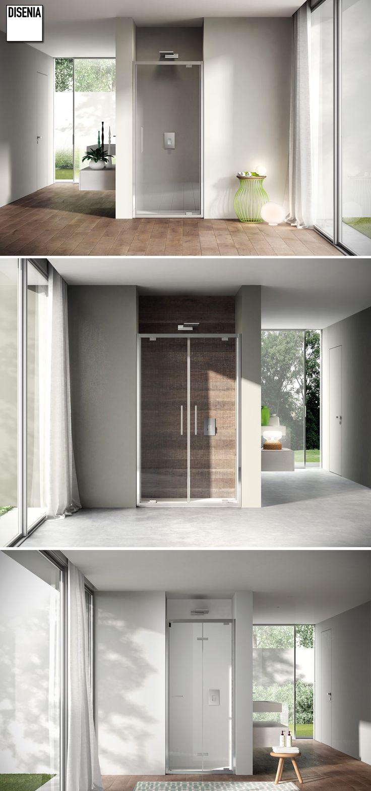 Like by Disenia. The new range of framed shower enclosures. #Bathroom #Design #MadeinItaly
