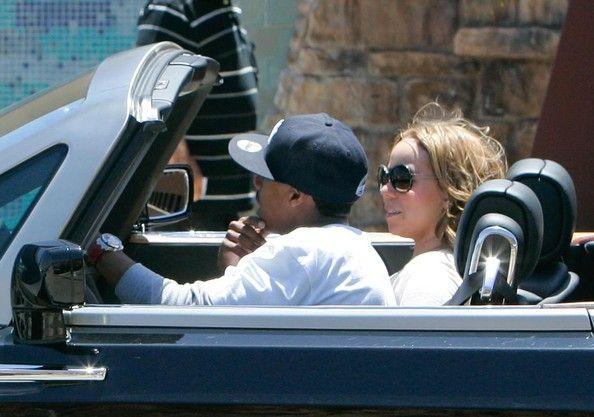 Mariah Carey Photos Photos - Hollywood couple Mariah Carey and Nick Cannon out cruising around in their Rolls Royce in Malibu, CA. - Mariah Carey And Nick Cannon Cruising In Malibu