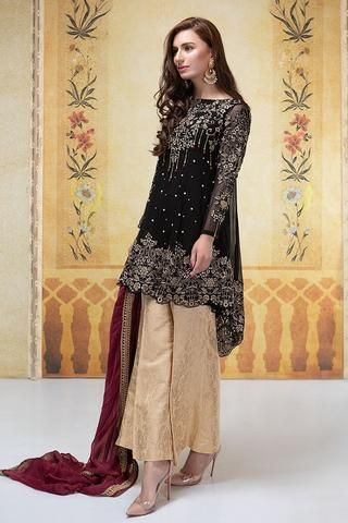 bafdf6935d Maria B Chiffon Suit - Buy Online at Replica Zone. | Dresses in 2019 ...