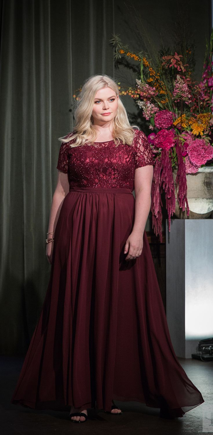 pin auf curvy evening wear