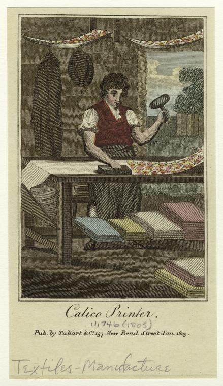 Calico Printer, 1805, New York Public Library