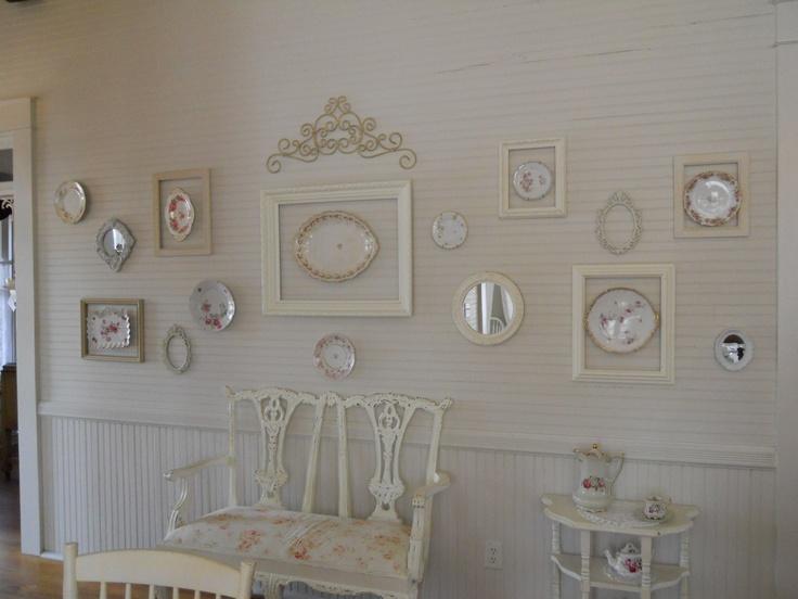 In tampa tea rose cottage tea room shabby shic french for Tea room design quarter