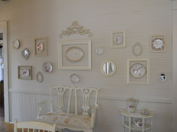In tampa tea rose cottage tea room shabby shic french for Tea room interior design ideas