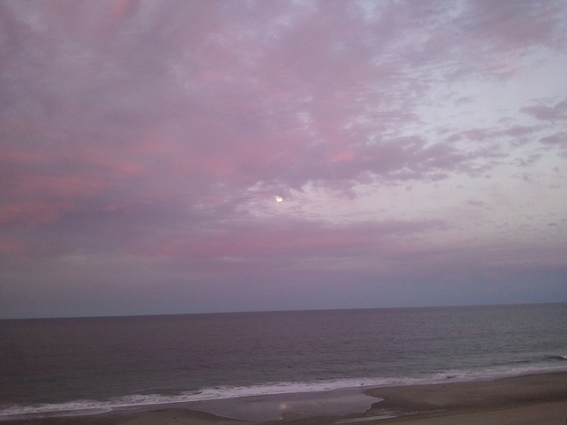 Bethany Sunset by The Daring Librarian, via Flickr: Bethany Sunsets, Bethany Beach