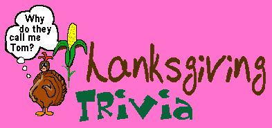 Thanksgiving Trivia Quiz Fun! 100 Questions by Brownielocks.  A fun activity for everyone - especially those not really interested in staying glued to the football games!