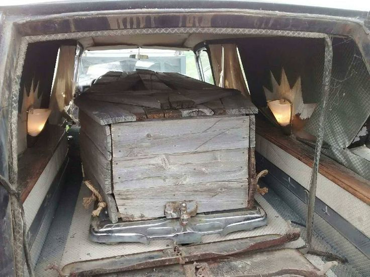 this is the coffin that was included inside our hearse no body inside the interior lights on. Black Bedroom Furniture Sets. Home Design Ideas