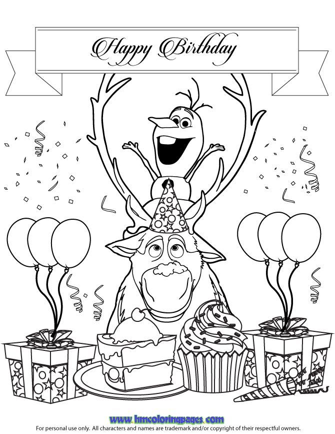 44 best Olaf images on Pinterest | Birthdays, Frozen party and ...