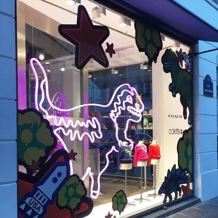 """COLETTE, Paris, France, """"Kids limited edition capsule collection by Coach"""", pinned by Ton van der Veer"""