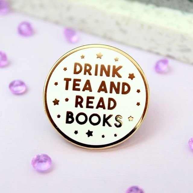 Available in store soon! regram @fableandblack The Drink Tea and Read Books Pin is now live in my Etsy Shop and available to buy! Link is in my Bio! #drinkteaandread #drinkteaandreadbooks #drinkteaandreadpin #enamelpin #pingame #pingamestrong #readmore #readmorebooks #readersofinstagram #bookpin #bookworm #booklover #bookgeek #boknerd #etsy #etsyuk #etsynottingham