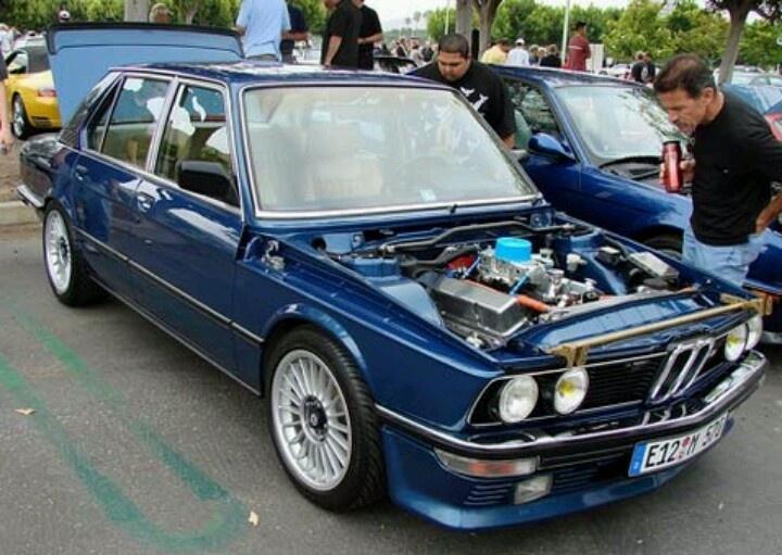 E12 5 series w/ American V8.