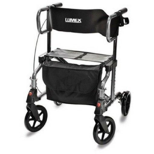 Graham-Field HybridLX (LX1000B-1) Rollator & Transport Chair