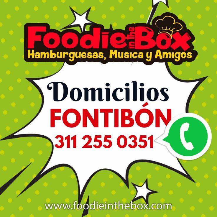 #FoodieInTheBox Pide tu domicilio en fontibon, disfruta en la comodidad de tu casa de la mejor comida. http://foodieinthebox.com/