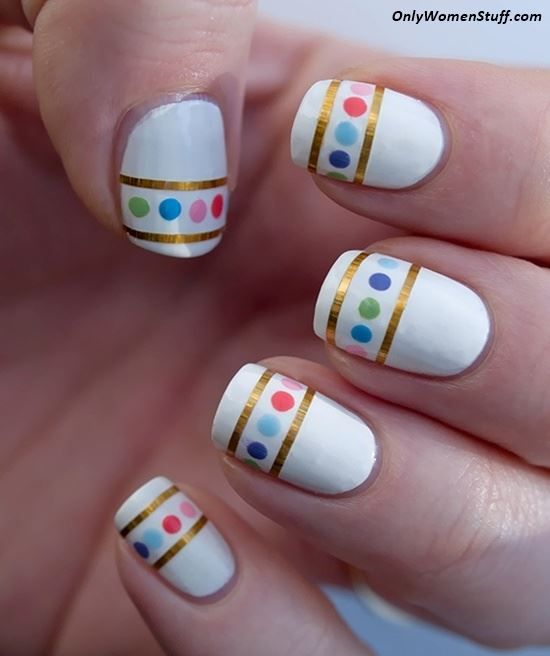 Best 25+ Nail art at home ideas on Pinterest   Easy nail designs ...