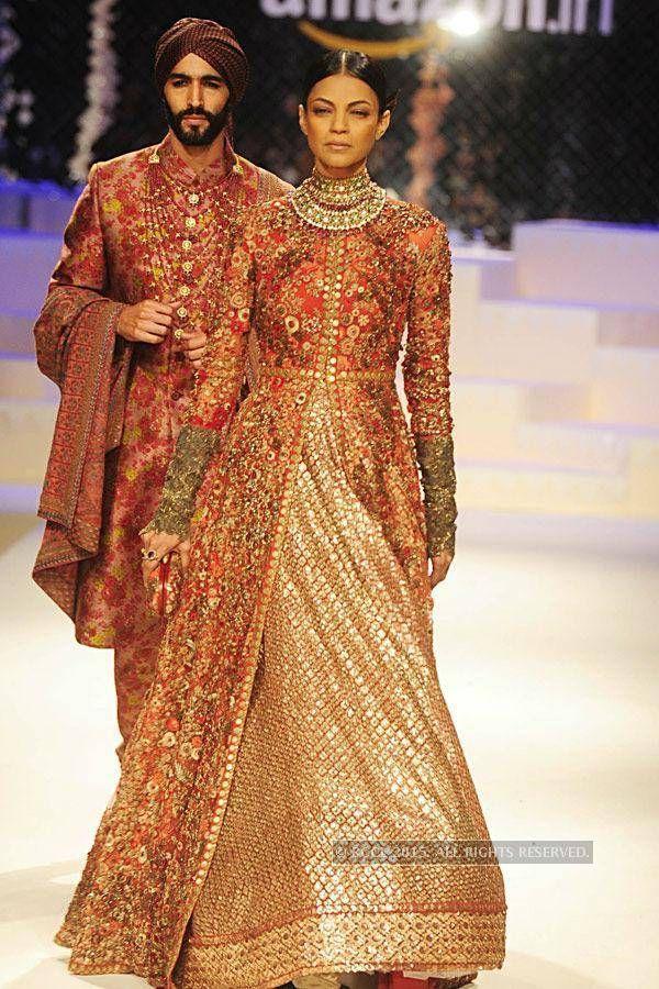 Sabyasachi 2015  royal bridal lehenga #indianwedding #shaadibazaar