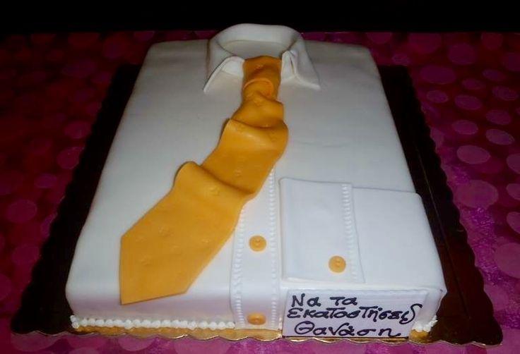 Handmade birthday cake